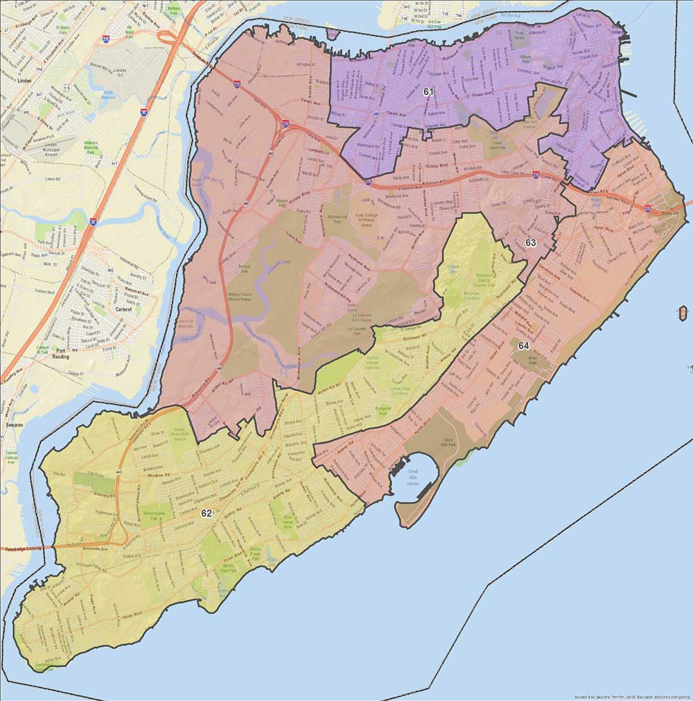 Where Is Staten Island On The Map